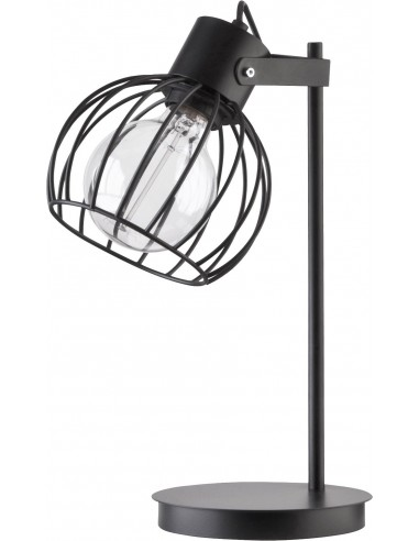 Lampka Luto koło czarna mat 50086 -...