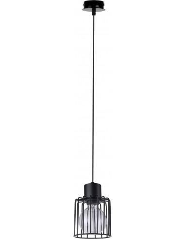Lampa wisząca Luto kwadrat 1 czarna...