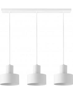 Lampa wisząca Rif 3 biała...