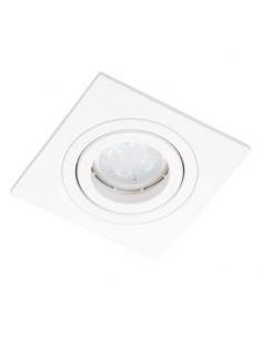 Oprawa podtynkowa regulowana Alcazar 541.WW kwadratowa GU10 biała - Lumifall LMF.AZ541WW