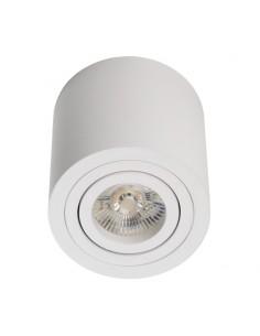 Tuba natynkowa regulowana Cilo biała - Lumifall