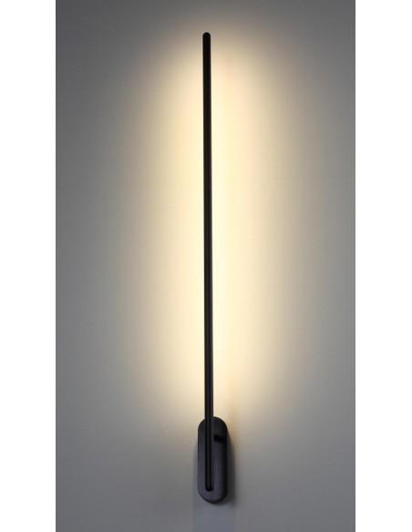 Lampa ścienna Sil 1 Czarny SOL15243 - Soluz