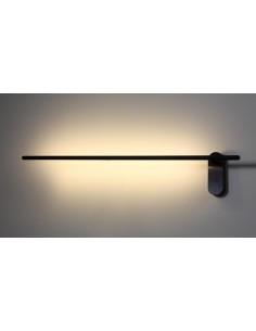 Kinkiet LED Sil ruchomy czarny minimalistyczny SOL15243 - Soluz