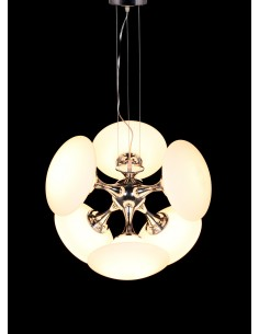 Lampa wisząca Gelikon 6 Biały LDP 10121-6 - Lumina Deco