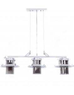 Lampa wisząca Capri 3 Biały LDP 11327-3-PR WT - Lumina Deco