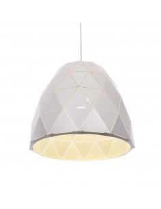 Lampa wisząca Dukka 1 Biały LDP 7415-1 WT - Lumina Deco
