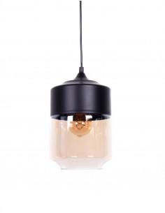 Lampa wisząca Astila 1 Bursztynowy LDP 6807 BK - Lumina Deco