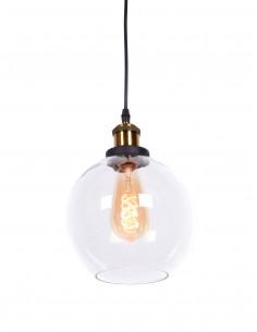 Lampa wisząca Navarro 1 Przezroczysty LDP 6802 PR - Lumina Deco