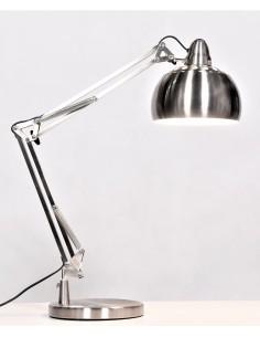 Lampa stołowa Rigorria 1 Srebrny LDT 8815-3 SL - Lumina Deco