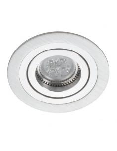 Oprawa podtynkowa regulowana ALCAZAR 540.SC GU10 oczko srebrne i chrom - Lumifall