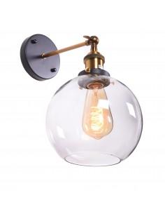 Kinkiet Navarro 1 Przezroczysty LDW 6802 PR - Lumina Deco