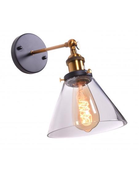 Kinkiet Nubi 1 Przezroczysty LDW 6801 - Lumina Deco
