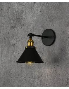 Kinkiet Gubi 1 Czarny LDW B005-1 BK - Lumina Deco