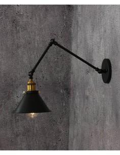 Kinkiet Gubi 1 Czarny LDW B005-2 BK - Lumina Deco