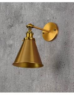 Kinkiet Rubi 1 Mosiądz LDW B007-1 MD - Lumina Deco