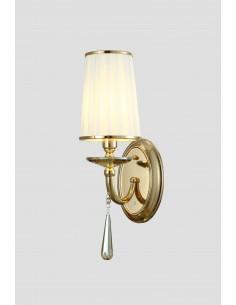 Kinkiet Fabione 1 Złoty LDW 1200-1 GD - Lumina Deco
