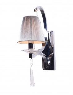 Kinkiet Venisia 1 Chrom LDW 8810-1 - Lumina Deco