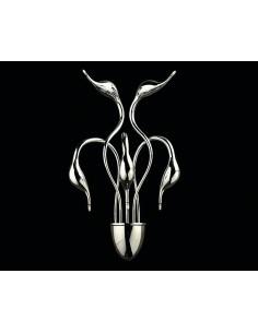 Kinkiet Magica 5 Chrom LDW 6028-5 CHR - Lumina Deco
