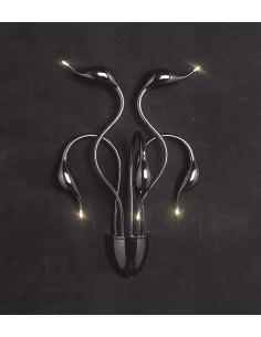 Kinkiet Magica 5 Czarny LDW 6028-5 BK - Lumina Deco