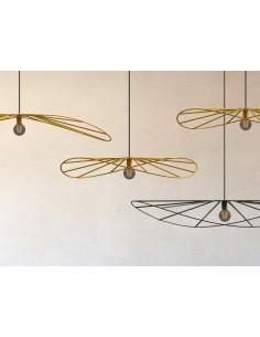 Lampa wisząca 1 punktowa ESKOLA 70cm druciana vertigo - Thoro
