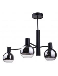 Lampa sufitowa GALA 3 skos czarna 32013 - Sigma
