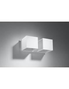 Kinkiet Quad 2 punktowy biały SL.0656 - Sollux