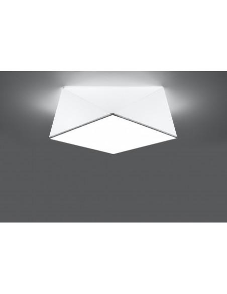 Plafon HEXA 35 biały SL.0689 - Sollux