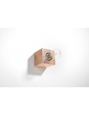 Kinkiet ABEL naturalne drewno SL.0676 - Sollux