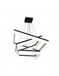 Lampa wisząca Nero 1 Czarny ML083 - Milagro