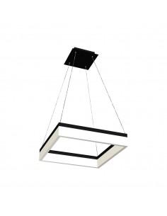 Lampa wisząca Nero 1 Czarny ML081 - Milagro