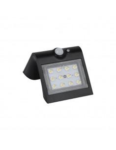 Lampka solarna LED 1,5W Butterfly IP65 czarna z czujnikiem ruchu EKO3867 - Milagro
