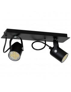 Lampa sufitowa Pico 2 Czarny MLP995 - Milagro