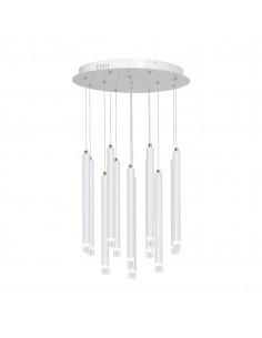 Lampa wisząca Alba 1 Biały ML228 - Milagro