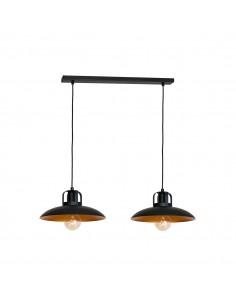 Lampa wisząca Felix 2 Czarny MLP3683 - Milagro