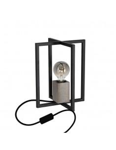 Lampka stołowa Ralph 1 Czarny MLP3713 - Milagro