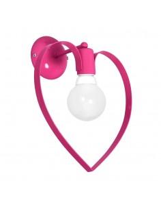 Kinkiet Amore 1 Różowy MLP9955 - Milagro
