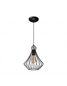 Lampa wisząca Jewel 1 Czarny MLP4206 - Milagro