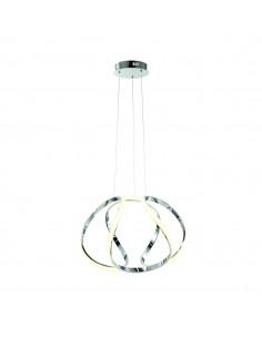 Lampa wisząca Globe 1 Chrom ML3808 - Milagro
