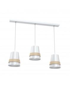 Lampa wisząca Venezia 3 Biały MLP5438 - Milagro