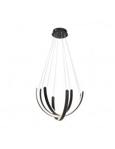 Lampa wisząca LED Fiore Czarny ML5494 - Milagro