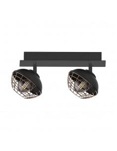 Lampa sufitowa Logan 2 Czarny ML4610 - Milagro