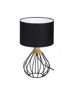 Lampa stołowa Kane 1 Czarny MLP4797 - Milagro