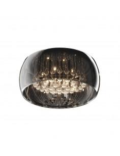 Lampa sufitowa Crystal 6 punktowa chrom C0076-06X-F4FZ - Zuma Line