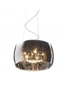 Lampa wisząca chrom Crystal 5 punktowa P0076-05L-F4FZ - Zuma Line