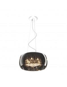 Lampa wisząca Crystal 6 punktowa chrom P0076-06X-F4FZ - Zuma Line
