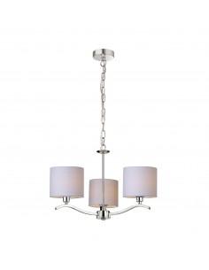 Lampa wisząca Carmen 3 punktowa beżowa RLD94103-3 - Zuma Line