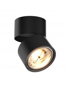 Lampa sufitowa regulowana tuba Lomo 1 punktowa czarna 20001-BK - Zuma Line
