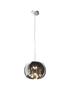Lampa wisząca Crystal 3 transparentny P0076-03E-F4FZ - Zuma Line