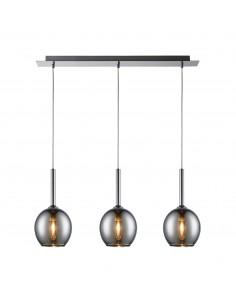 Lampa wisząca Monic chrom 3 punktowa MD1629-3A - Zuma Line