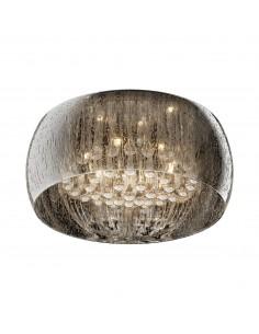 Lampa sufitowa chrom Rain 6 punktowa C0076-06X-F4K9 - Zuma Line